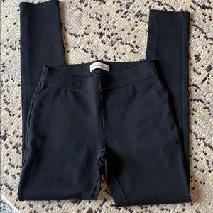 Abercrombie Kids black leggings, size L